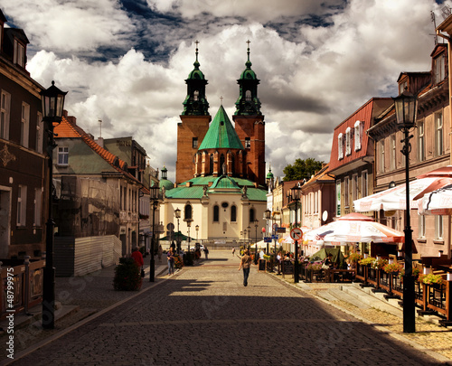 Cathedral in Gniezno, Poland Canvas Print