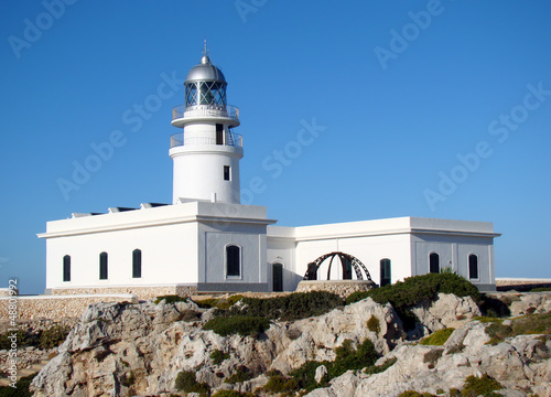 Fotografie, Obraz  Lighthouse at Cap de Cavalleria, Menorca