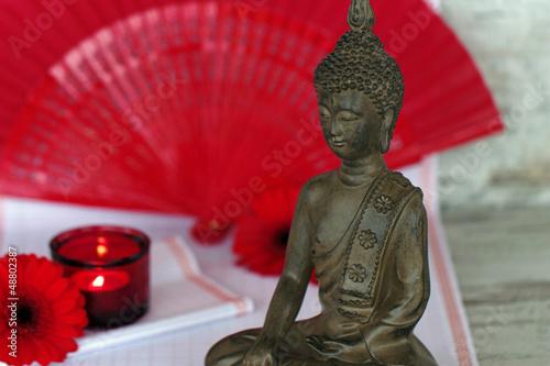 Akustikstoff - Buddhafigur (von Carmen 56)