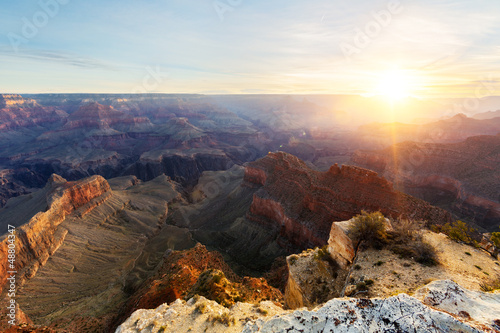Photo sur Toile Cappuccino Grand Canyon