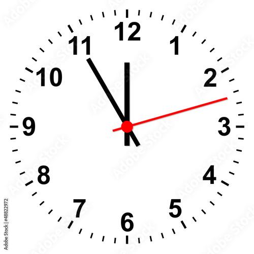 Fotografering  Uhr simpel