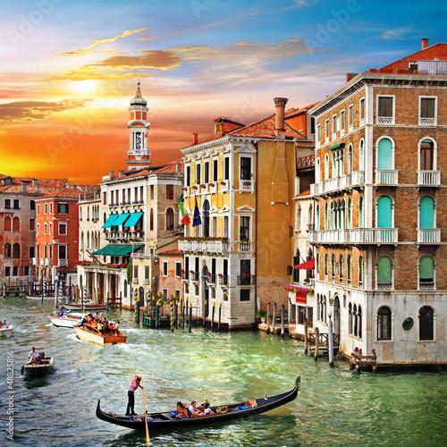 Venetian sunset - 48825816