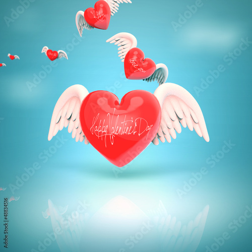 Corazones Con Alas Buy This Stock Illustration And Explore Similar
