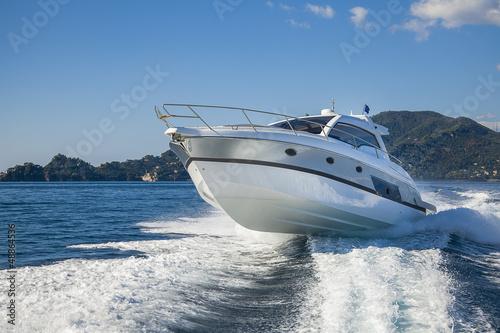 Fotografia  motor boat rio yacht