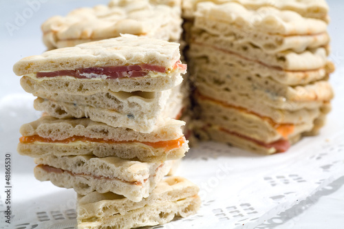 Fotografie, Obraz illustration pour buffet aperitif