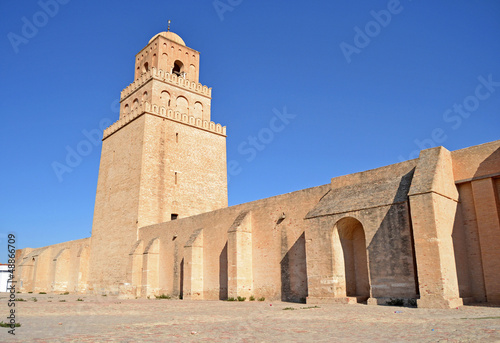 Staande foto Tunesië The Great Mosque of Kairouan - Tunisia, Africa