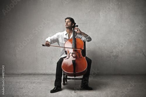 violoncello Fototapet