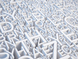 Letters background