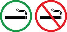 Smoking Area And No Smoking