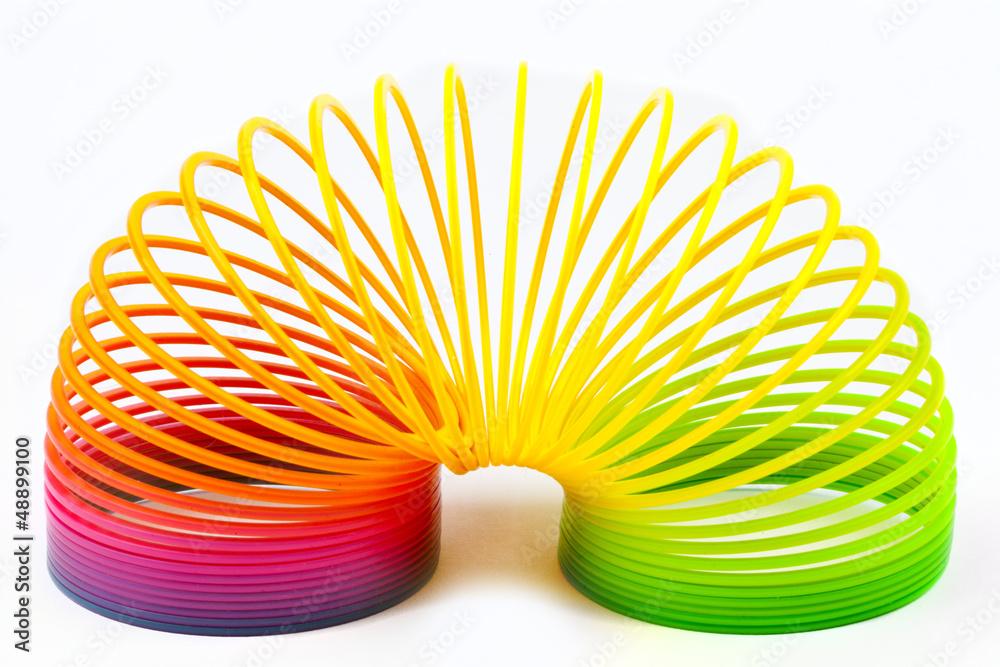 Fototapety, obrazy: Slinky Toy