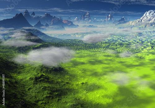 Fantasy Landscape - Computer Artwork