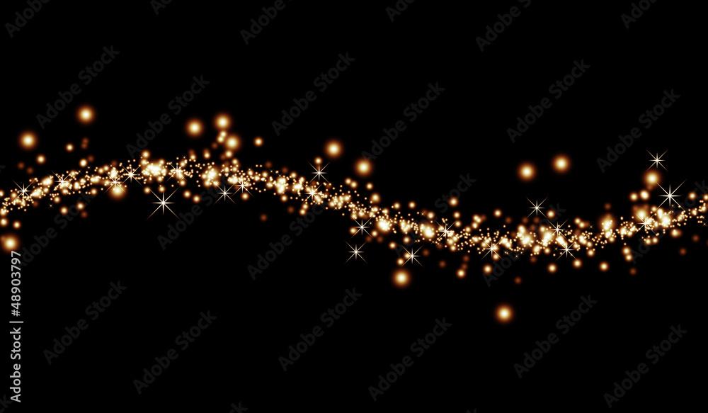 Fototapety, obrazy: 抽象的な輝き背景