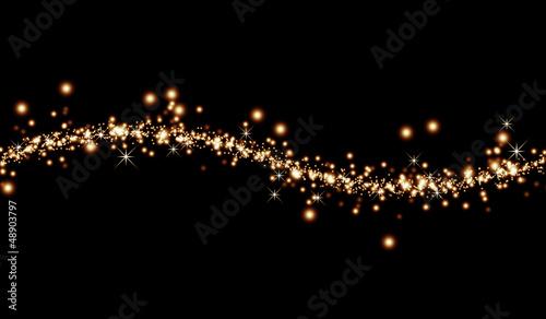 Photo 抽象的な輝き背景