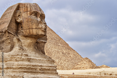 Tuinposter Egypte The Sphinx - guardian of the pharaos