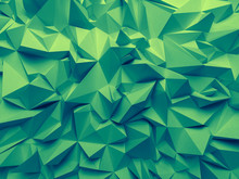 Abstract Trendy Emerald Green ...