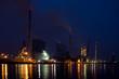 GKM Mannheim bei Nacht