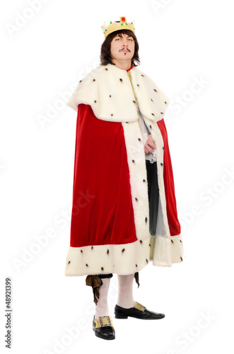 Fotografie, Obraz  man in the royal costume
