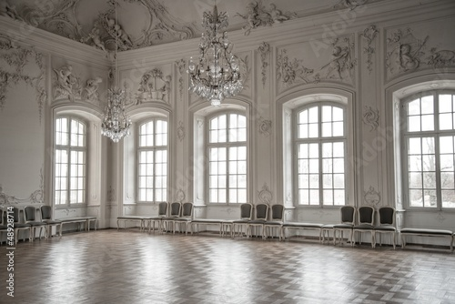 Hall in a palace Fototapet