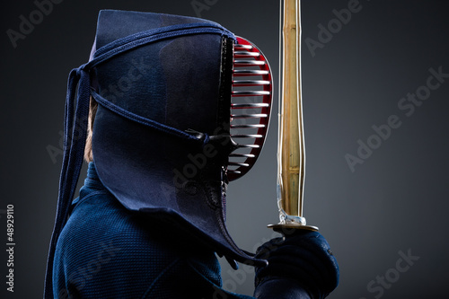 Japanese martial art of sword fighting - Buy this stock