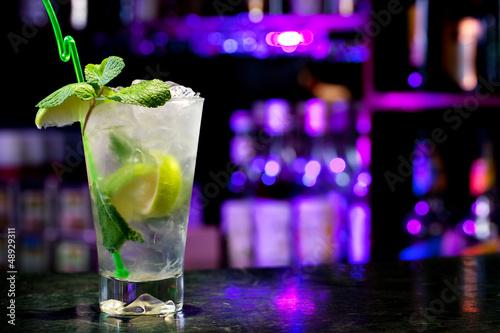 Fotografía  Mojito cocktail