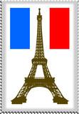 Fototapeta Paryż - znaczek z paryża