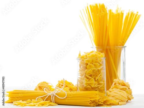 Fotografie, Obraz  Mixed pasta