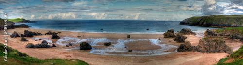 Foto op Aluminium Zalm beach of durness