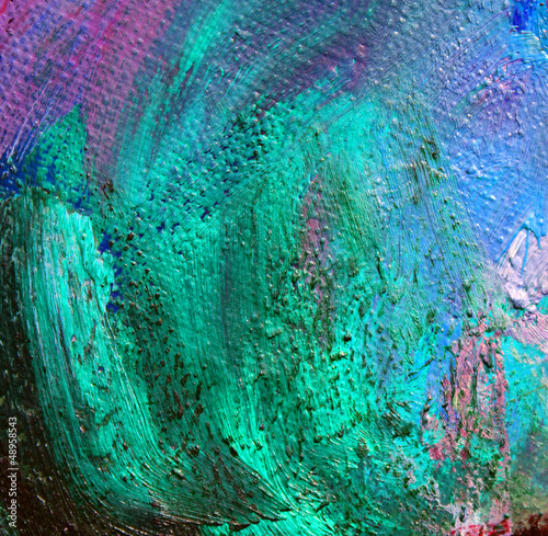 oil paint on a canvas,  abstract background
