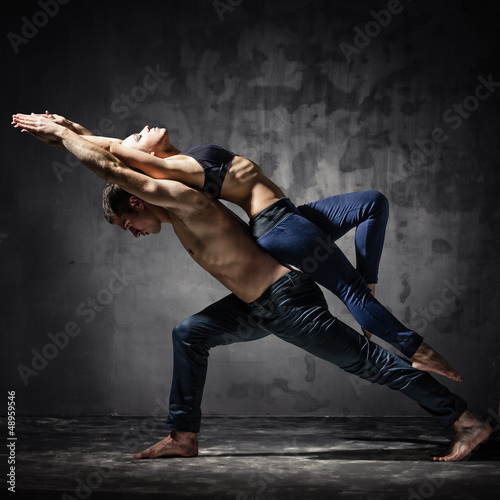 Two dancers - 48959546