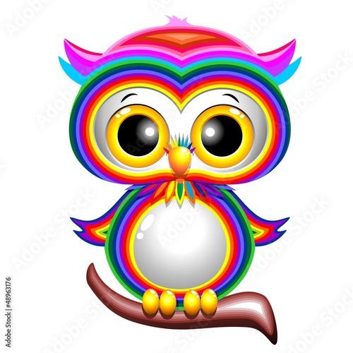 rainbow-baby-sowa-cartoon-sowa-puppy-rainbow-vector