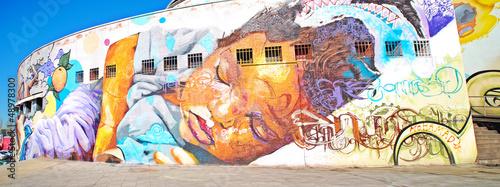 PANORÁMICA, GRAFFITI EN LA CALLE