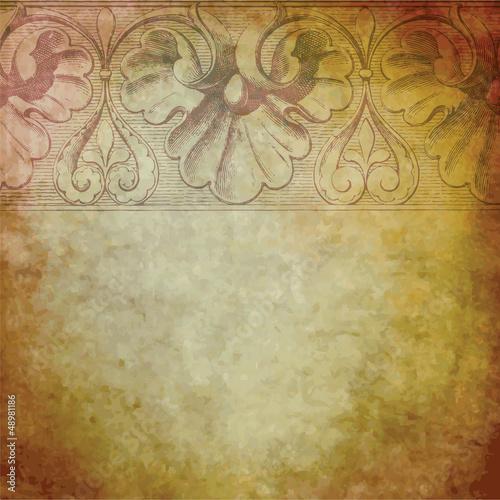 Fotografie, Obraz  Old background texture
