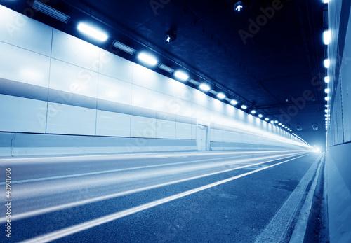Photo sur Aluminium F1 Tunnel