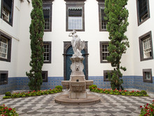 Statue Of Leda And The Swan, City Hall, Camara Municipal Funchal