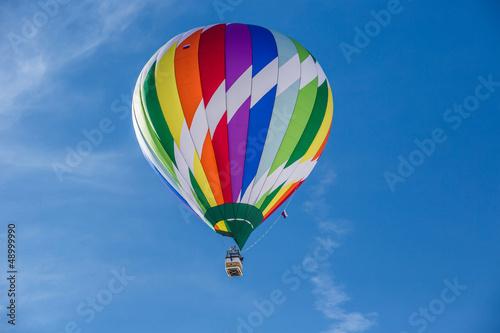 In de dag Ballon 2013 35tth International Hot Air Balloon Festival, Switzerland,