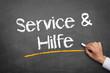 Service und Hilfe