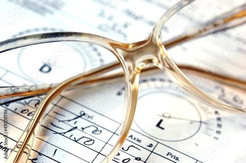 Valokuva  Prescription glasses