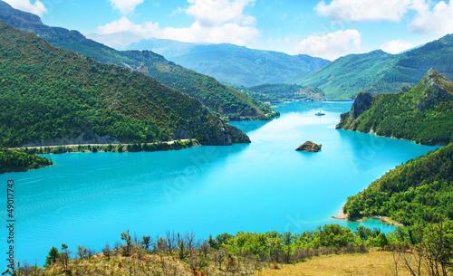 Photo Stands Caribbean lac de castillon