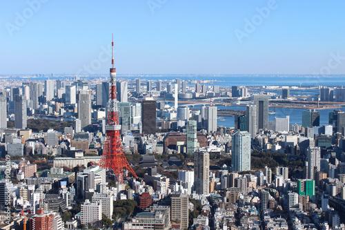 Foto op Canvas Tokio Tokyo city view, Japan