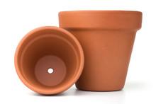 Empty Ceramic Flower Pots