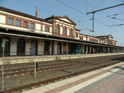 Foto auf AluDibond Bahnhof Hauptbahnhof Düren