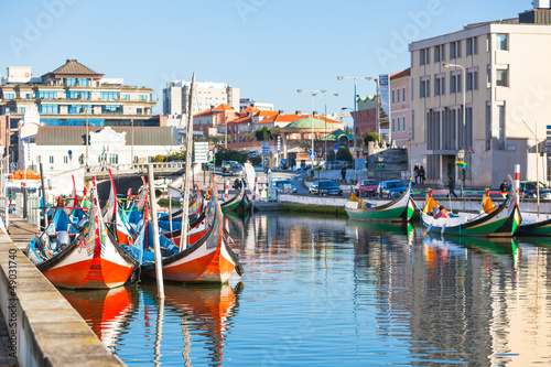 Fotografie, Obraz  Aveiro, Portugal view