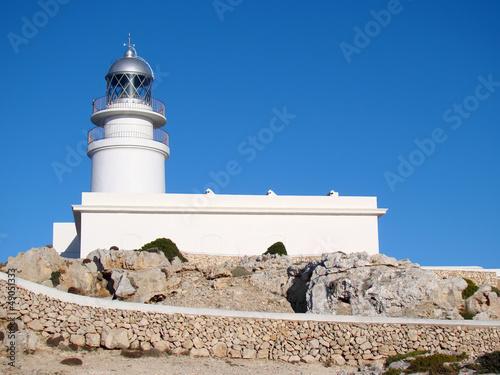 Fotografie, Obraz  Lighthouse at Cap de Cavalleria, Menorca
