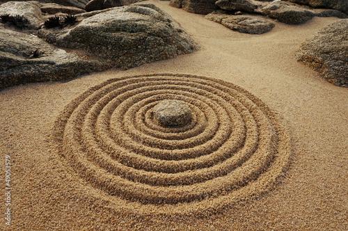 Akustikstoff - Zen Kreise (von Fotoschlick)