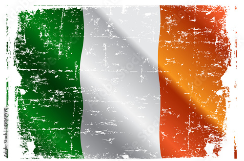 Poster Magie Irish flag