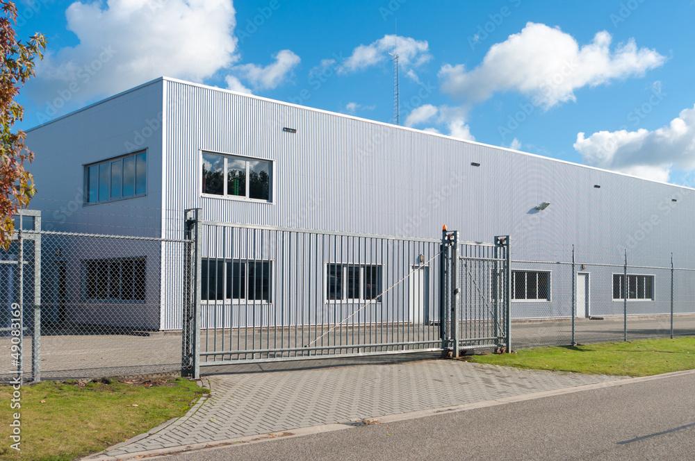 Fototapeta industrial building