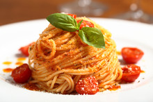 Pasta Italiana Spaghetti Al Po...