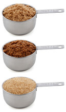 Three Different Sugars In Cup ...