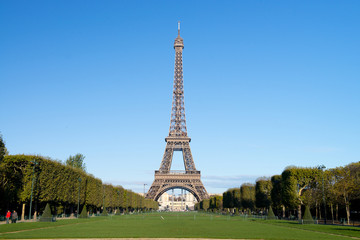 Autumn in Paris - Eiffel tower