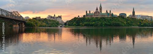 Poster Canada Ottawa morning